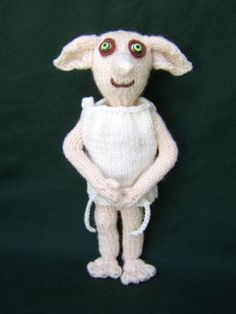 Free Dobby the House Elf Knitting Pattern - Yahoo! Voices - voices.yahoo.com