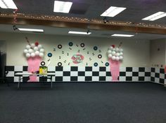 Sock Hop Decorations paper milkshakes for sock hop dance . & 1950u0027s Sock Hop Party Decorations | Pinterest | Sock hop party DIY ...