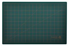 Post Consumer Recycled Cutting Mat, 12 x 18, Green