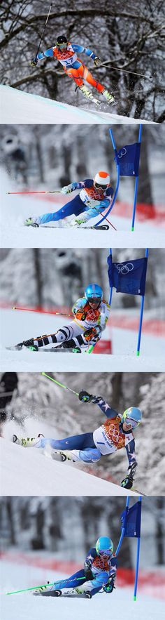 Alpine Skiing Men's Giant Slalom - my favorite alpine discipline