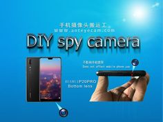 """""""We can move the front camera of the phone to the side, back or top of the phone without affecting the function of the phone. Micro Spy Camera, Best Spy Camera, Hidden Spy Camera, Bullet Journal Bookshelf, Metal Iphone Case, Some Love Quotes, Pinhole Camera, Good Morning Gif, Cool Gadgets To Buy"""