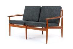 Arne Vodder Teak Sofa for Glostrup - Mr. Bigglesworthy Designer Vintage Furniture Gallery
