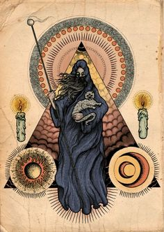 I adore all things occult. Wiccan, Magick, Witchcraft, Tarot, Potnia Theron, Esoteric Art, Arte Obscura, Occult Art, Mystique