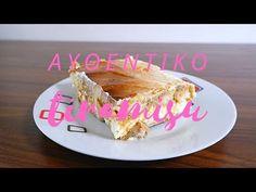 ΑΥΘΕΝΤΙΚΟ ΙΤΑΛΙΚΟ ΤΙΡΑΜΙΣΟΥ (ITALIAN TIRAMISU) - YouTube Pie, Cooking, Youtube, Desserts, Food, Torte, Kitchen, Tailgate Desserts, Cake