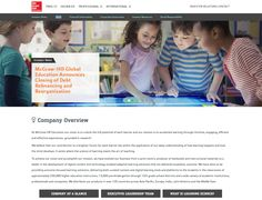 McGraw-Hill Education - IR Responsive