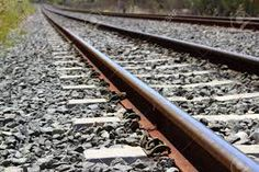 Image result for train tracks rusted