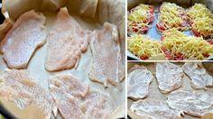 Kuřecí řízky si nemusíte dopřávat jen v klasickém trojobalu. Obměňte čas od času přípravu kuřecího masa a vyzkoušejte něco nového. Lahodné kuřecí řízky, které v troubě zapečete s rajčaty a sýrem, začnou jistě patřit do Vašeho seznamu oblíbených jídel. Na této dobrotě si zajisté pochutná celá va