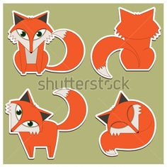 vector fox - 365psd