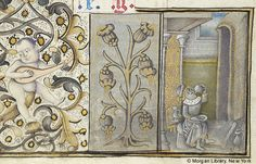 Book of Hours, MS M.854 fol. 2v - Images from Medieval and Renaissance Manuscripts - The Morgan Library & Museum