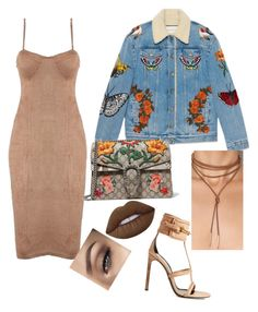 """It's Gucci"" by yasmineings on Polyvore featuring Gucci and Lime Crime"