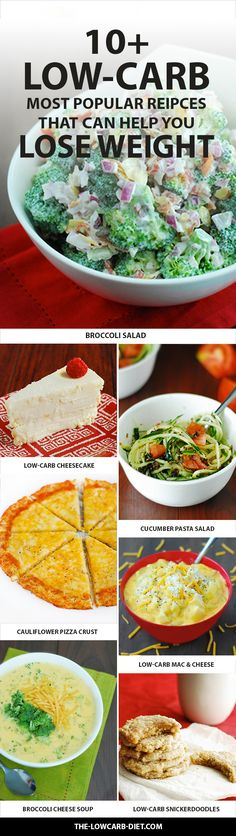 Use these 10+ recipes to help you on your path to weight-loss!