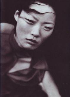 Kae Lee Iwakawa by Peter Lindbergh for Vogue Italia May 1999, A Windy Summer