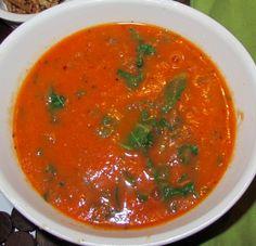 Spicy Tomato Kale Soup