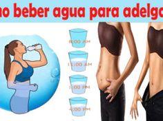 Cómo tomar agua para perder peso