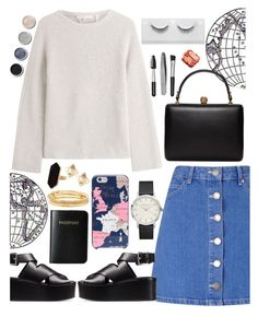 """""""Oh lala"""" by jenamiller1230 ❤ liked on Polyvore featuring Miss Selfridge, Helmut Lang, Alexander Wang, Vera Bradley, Terre Mère, Alexander McQueen, Kate Spade, Valentino, Jaeger and Sephora Collection"""
