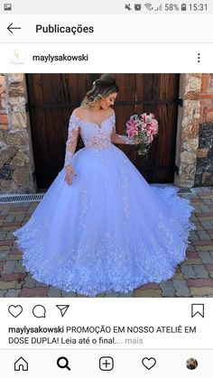 Fancy Wedding Dresses, Gorgeous Wedding Dress, Bridal Dresses, Wedding Gowns, Formal Dresses, Floral Wedding, Wedding White, Cheap Gowns, Princess Wedding