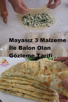 Turkish Recipes, Ethnic Recipes, Ham, Food And Drink, Pizza, Menu, Bread, Snacks, Dishes