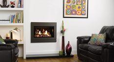 Riva2 530 & 670 Designio2 Steel Gas Fires