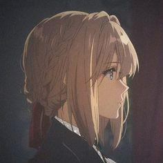 Sad Anime, Anime Art, Violet Evergreen, Violet Evergarden Anime, Anime Group, A Silent Voice, Cute Anime Pics, Anime Profile, Foto Instagram