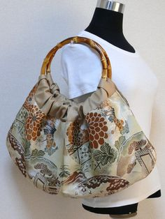 Obi Kimono Purse / SALE 50 OFF BG123 Beautiful by RummyHandmade, $32.50
