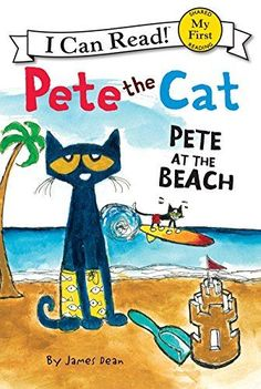 Pete the Cat: Pete at the Beach (My First I Can Read) by James Dean http://www.amazon.com/dp/0062110721/ref=cm_sw_r_pi_dp_1nTbwb0CYFBRP