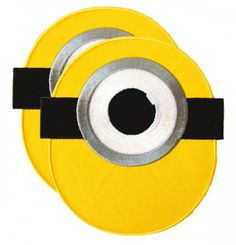 monocular_L Minions, Patches, Symbols, Letters, Sewing, Kids, Shopping, Young Children, Dressmaking
