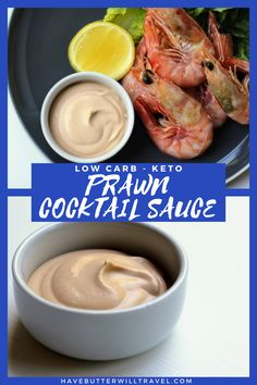 Keto prawn cocktail sauce recipe is perfect to pair with your favourite seafood protein. Great to serve with your prawns at Christmas and during the summer. Prawn Cocktail, Cocktail Sauce, Ketogenic Recipes, Low Carb Recipes, Keto Sauces, Low Carb Keto, Seafood, Breakfast Recipes, Protein