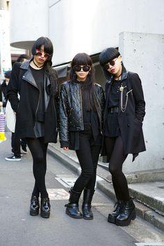 Street Style: Tokyo Fashion Week Fall 2014 - Vogue http://www.pinterest.com/pin/328903579010005072/