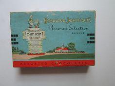 Howard Johnson's Candy Box Circa Early 1950'S