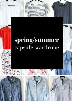 Spring/Summer+Capsule+Wardrobe+Ideas+from+MomAdvice.com