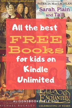 All the best books available for free to kids with Kindle Unlimited. #kidsbooks #freebooks #kindlebooks #elementarybooks #middleschoolbooks #booksforchildren #bestbooks #kindle #ebooks #bestkidsbooks #2ndgradebooks #3rdgradebooks #4thgradebooks #5thgradebooks #6thgradebooks #7thgradebooks #middlelevelbooks #chapterbooks #graphicnovels #novelsforkids