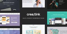 Crea;tink - Multi-Concept Responsive WordPress Theme