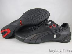 3b613cace2 Puma future cat m2 sf black/silver/chrome/red ferrari motorsports mens