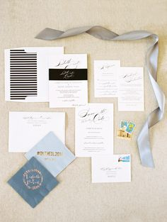 Vintage Glam Wedding Invitations | Shine Wedding Invitations Real Wedding
