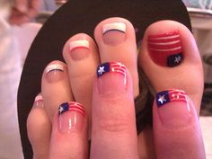 Patriotic Nails! Cross Country Road Trip/Move + 4th of July #Nails