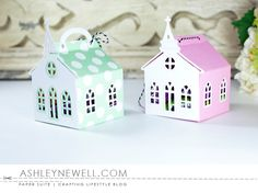 Church Treat Boxes by Ashley Cannon Newell for Papertrey Ink (February 2016)