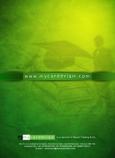 Rear Side of mycareerism flyer