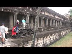 http://tourvideos.com/ Cambodia's most magnificent historic monument, Angkor Wat was a Hindu temple representing heaven and earth, located near Siem Reap in the world's largest religious complex.  A UNSECO World Heritage site, we visit with our Cambodian tour guide, Sethy Yous.