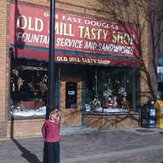 Old Mill tasty shop in down town Wichita Kansas has been there over 30 years and still serving great food .