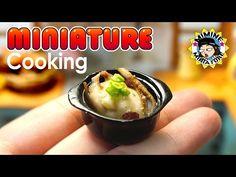 미니어쳐 법랑냄비 만들기 miniature - Enamel saucepan - YouTube