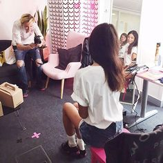 Sarenza @sarenza Here she is at #S...Instagram photo | Websta (Webstagram)