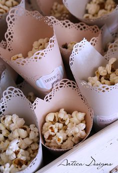 Popcorn. #Confetti #GrahamBeck #MyRoyalWedding Denim And Diamonds, Festa Party, Gypsophila, Wedding Confetti, Wedding Events, Weddings, Wedding Inspiration, Wedding Ideas, Graham