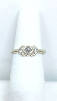A personal favorite from my Etsy shop https://www.etsy.com/listing/226342397/unique-estate-diamond-fashion-ring