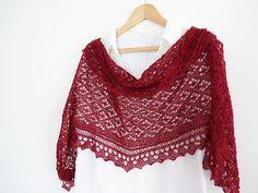 Ravelry: Cyrcus Rectangular Lace Shawl FREE knitting pattern by Madeline Wardrobe <3 <3 <3