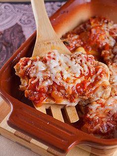 Zapečena piletina s mozzarellom i umakom od rajčica » Voće i povrće
