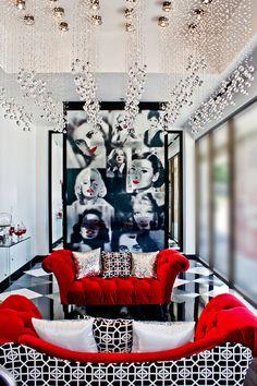 LASH Eyelash Studio designed by Contour Interior Design, LLC