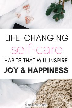 Looking to recharge, improve your happiness, reset your anxiety and stress levels, & be as productive as possible? Here are 15 simple self-care habits & practices that you can incorporate into your daily life that will inspire joy and happiness every day and change your life for the better! | self-care | self-care practices | health | wellness | inspiration | motivation | inspire happiness | how to be happy | mental health | meditation | live your best life