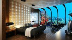 Il futuro #hotel #sottomarino di #dubai...