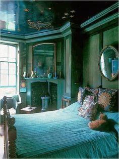 Bohemian Vintage: Bohemian Wednesday - Moody Bohemian Spaces - 02.12.2014