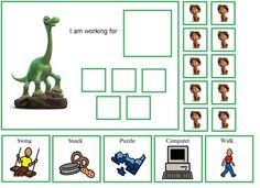 Autism The Good Dinosaur Token Board